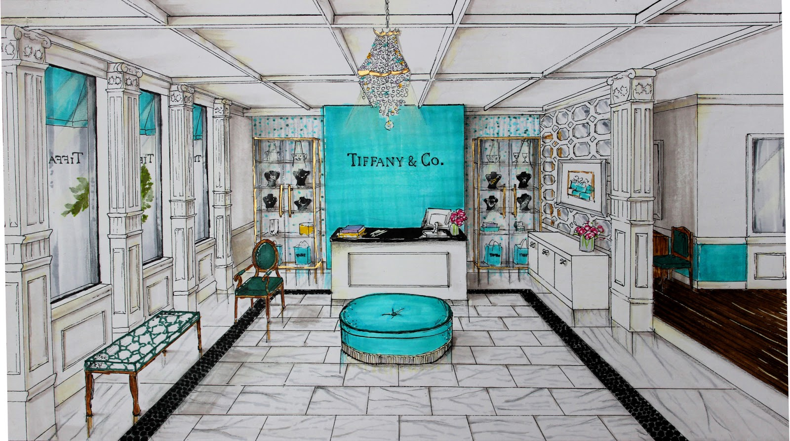 Tiffany unveils new styles in eyewear for spring 2014 for Tiffany a new york