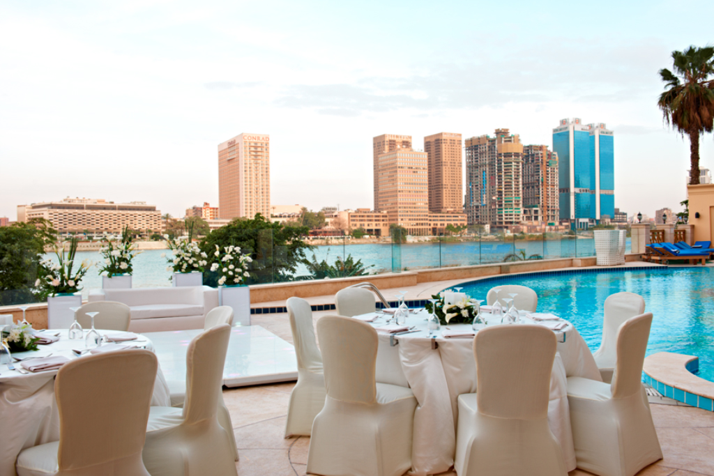 Start your wedding bliss at identity magazine for Terrace hilton zamalek